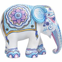 Elephant Parade Indian Blues - Handgefertigte Elefantenstatue - 10 cm