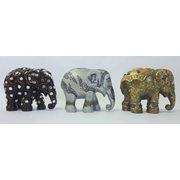 Elephant Parade Sukothai - Multipack - Handgefertigte Elefantenstatue - 3x7 cm
