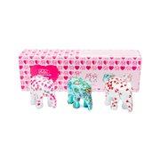 Elephant Parade With Love - Multipack - Handgefertigte Elefantenstatue - 3x7 cm
