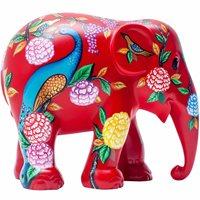 Elephant Parade Peacock Garden - Handgefertigte Elefantenstatue - 10 cm