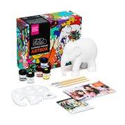 Elephant Parade Artbox - DIY - Handgefertigte Elefantenstatue - 15 cm