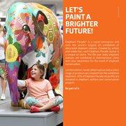 Elephant Parade Artbox - DIY - Handgemaakt Olifantenstandbeeld - 15 cm