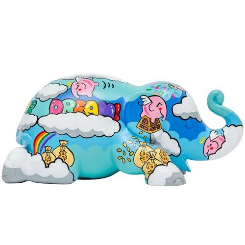 Elephant Parade Rainbowbank Ellybank - Spardose - Handgefertigte Elefantenstatue - 15 cm