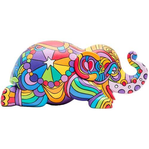 Elephant Parade Lazy Mazie Ellybank - Spardose - Handgefertigte Elefantenstatue - 15 cm