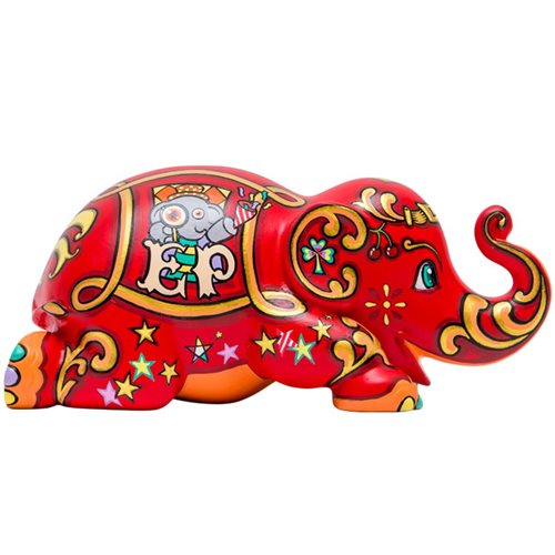 Elephant Parade Lucky Happy Ellybank - Spardose - Handgefertigte Elefantenstatue - 15 cm