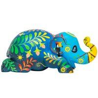 Elephant Parade Forever Love Ellybank - Spardose - Handgefertigte Elefantenstatue - 15 cm