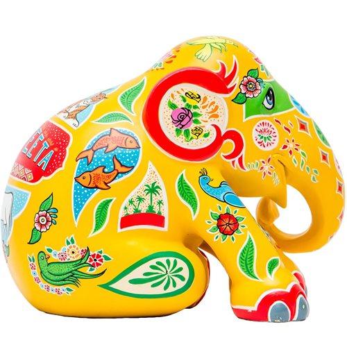 Elephant Parade Ranjeeta - Hand-Crafted Elephant Statue - 15 cm