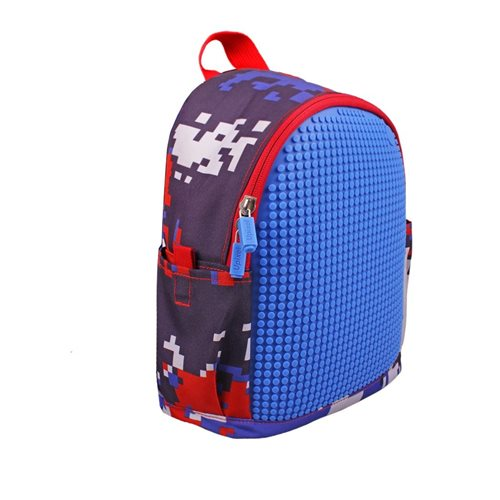 Upixel Dream High - Kinderrucksack  - DIY Pixel Kunst - Navy Blau