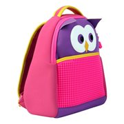 Upixel The Owl - Kids Backpack - DIY Pixel Art - Purple/Fuchsia