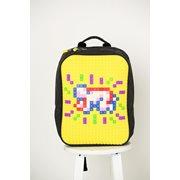 Upixel Classic - Backpack - DIY Pixel Art - Yellow