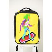 Upixel Classic - Rugzak - DIY Pixel Art - Geel