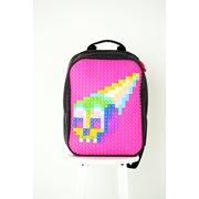 Upixel Classic - Rugzak - DIY Pixel Art - Fuchsia