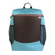 Upixel Gladiator - Backpack - DIY Pixel Art - Blue