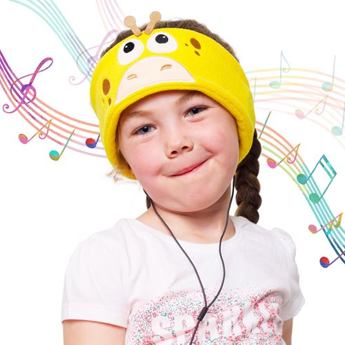 Snuggly Rascals Headphones for Kids - Giraffe