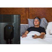 SleepPhones® Bequeme Wireless TV Kopfhörer - Mitternachtsschwarz