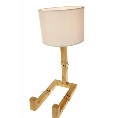 United Entertainment Lampe - Buchhalter - Holz/Weiß