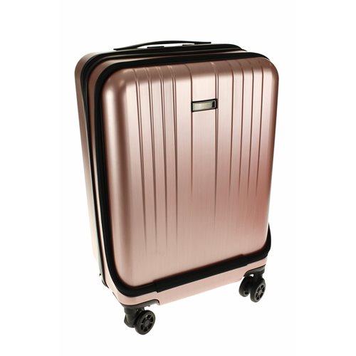 United Entertainment Handbagage Trolley - Roze/Koper