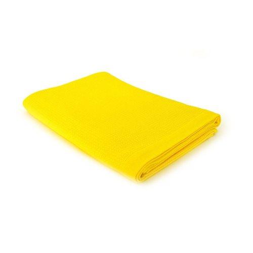 Ekobo Baño Badetuch 100% Organisch Baumwolle - 140x70 cm - Lemon