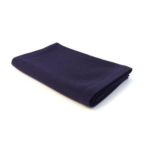 Ekobo Baño Badhanddoek 100% Organisch Katoen - 140x70 cm - Midnight Blue