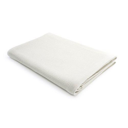Ekobo Baño Badetuch 100% Organisch Baumwolle - 140x70 cm - Weiß