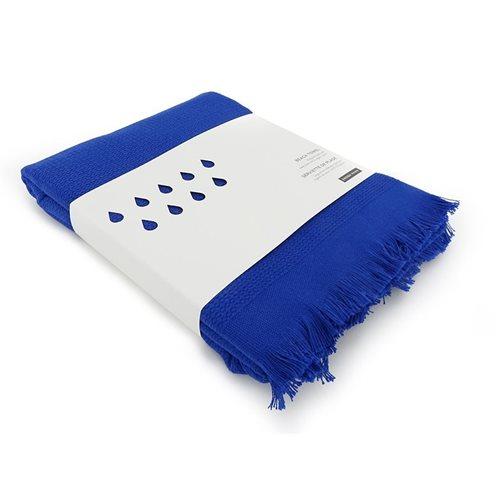 Ekobo GO Strandtuch 100% Organisch Baumwolle - 200x100 cm - Royal Blue