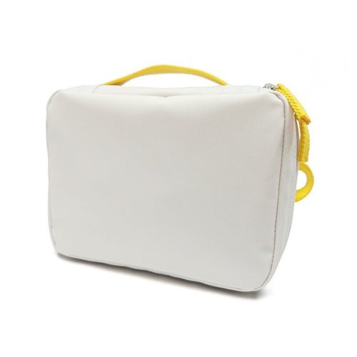 Ekobo GO Recycled PET Lunchtasche - 20x15x7 cm - Weiß/Lemon