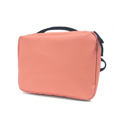Ekobo GO Recycled PET Lunch Bag - 20x15x7 cm - Coral/Storm