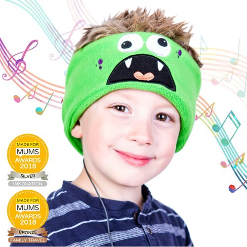 Snuggly Rascals v.2 - Over-ear Headphones for Kids - Monster - Cotton