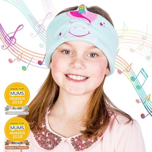 Snuggly Rascals v.2 - Über-Ohr-Kopfhörer für Kinder - Einhorn - Baumwolle