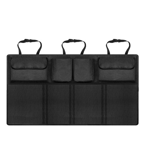 United Entertainment - Backseat Car Organizer Double - 90x34 cm - Black