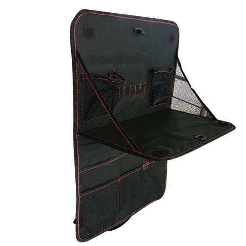 United Entertainment - Auto Rücksitz Organizer mit Klapptisch - 30x38 cm - Schwarz