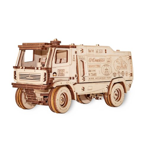 Eco-Wood-Art MAZ 5309RR - Scale 1:30 - Wooden Model Kit