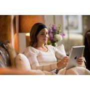 SleepPhones® Wireless Breeze Galaxy Blue - Medium