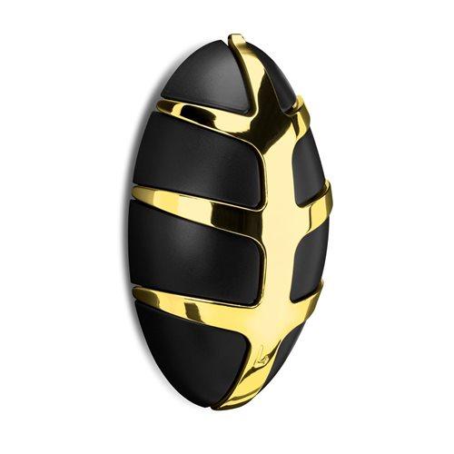 Spinder Design Bug Garderobe mit Metallhaken - Gold/Schwarz
