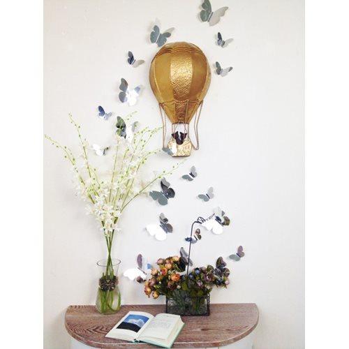 Walplus Decoration Sticker 3D Butterflies - Mirror