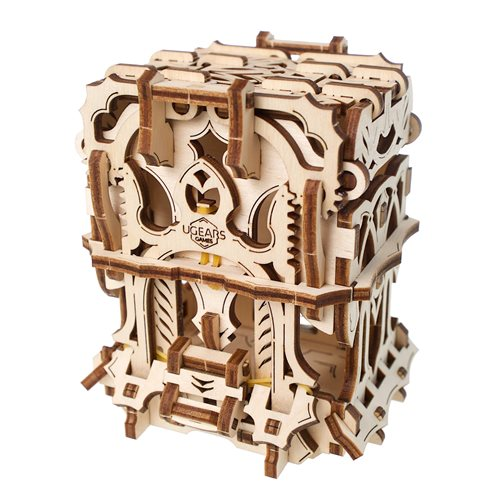 Ugears Wooden Model Kit - Deck Box 2-Grid - Games