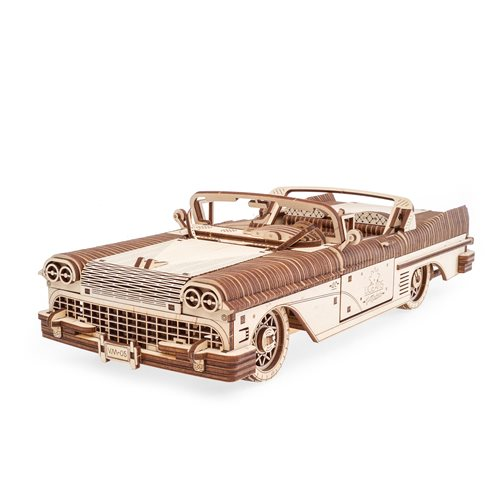 Ugears Wooden Model Kit - Dream Convertible VM-05