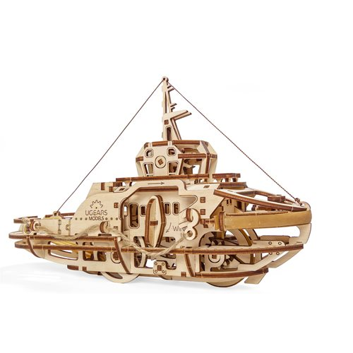 Ugears Wooden Model Kit - Tugboat