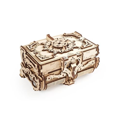 Ugears Wooden Model Kit - Antique Box