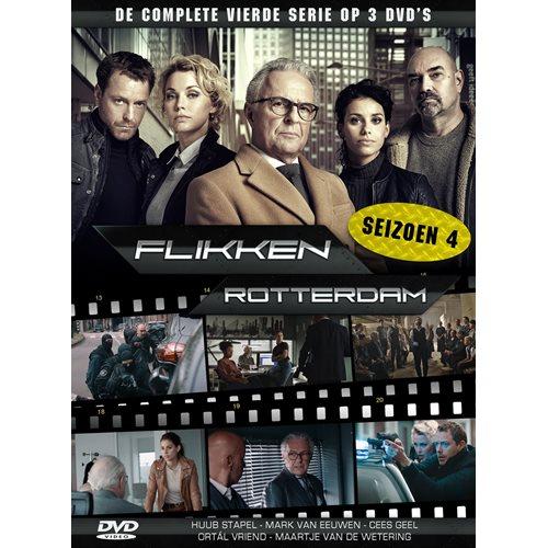 Flikken Rotterdam Seizoen 4 - DVD
