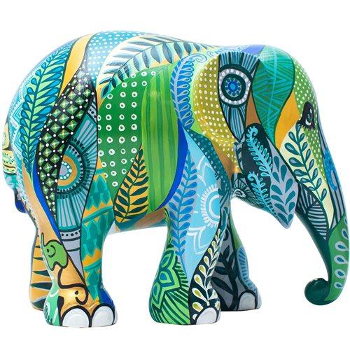 Elephant Parade Sarawak - Hand-Crafted Elephant Statue - 30 cm