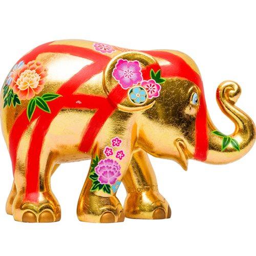 Elephant Parade Edo - Hand-Crafted Elephant Statue - 10 cm
