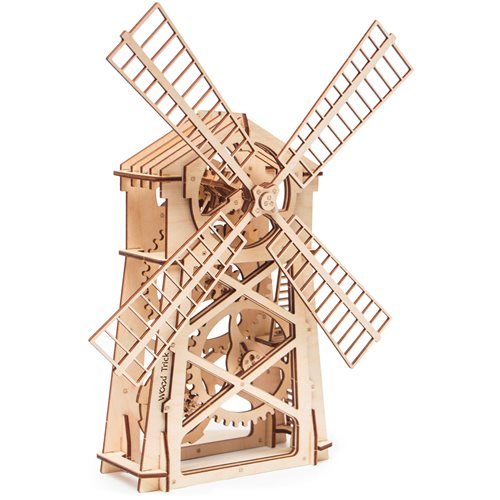 Wood Trick Wooden Model Kit - Mill