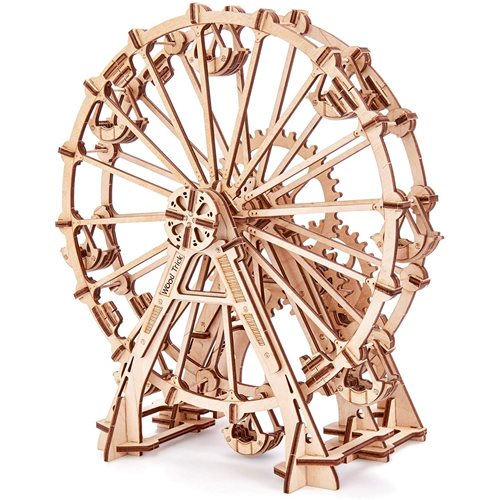 Wood Trick Wooden Model Kit - Ferris Wheel