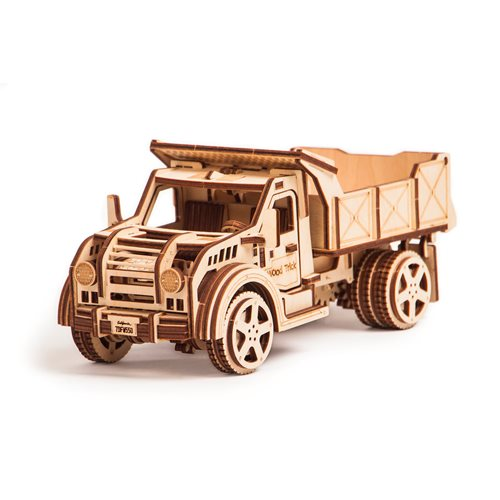 Wood Trick Wooden Model Kit - Truck