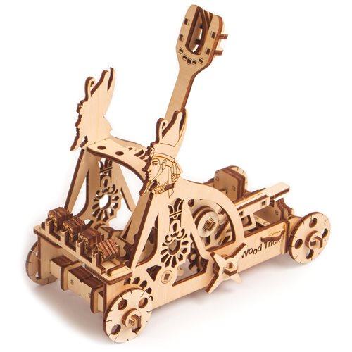 Wood Trick Wooden Model Kit - Catapult