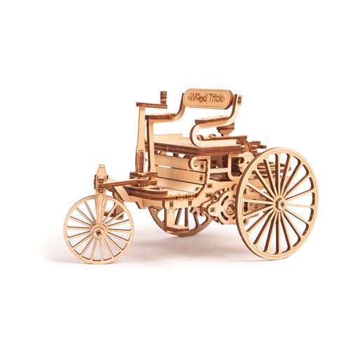 Wood Trick Wooden Model Kit - First Car