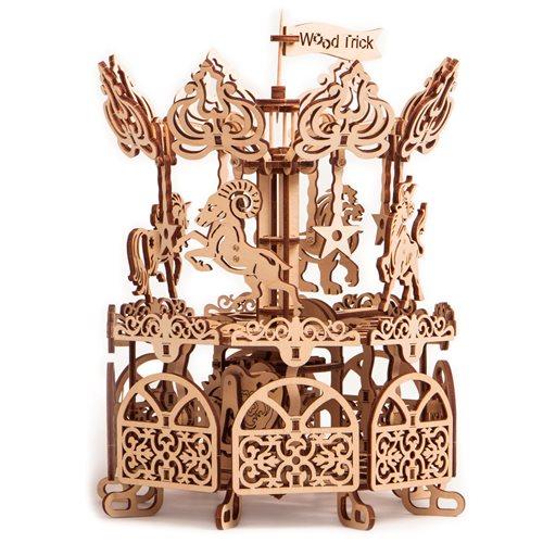 Wood Trick Wooden Model Kit - Carousel