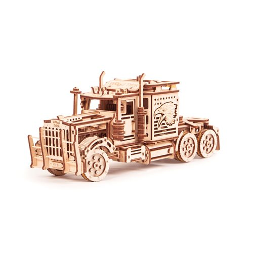 Wood Trick Wooden Model Kit - Big Rig