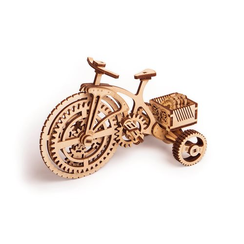 Wood Trick Wooden Model Kit - Bicycle